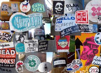 Stick Around: Downtown Austin Stickers