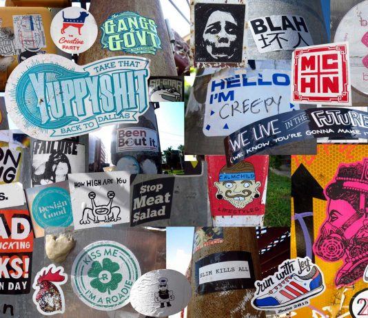 Stick Around: Downtown Austin Stickers