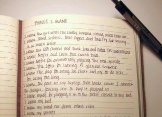 Things I Blame by Natalie Earhart