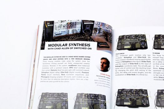 Almost Real Things Issue 02 Modular Synthesis Switched On