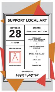 We Got Issues Celebration: 03 & 04 Art Market Poster