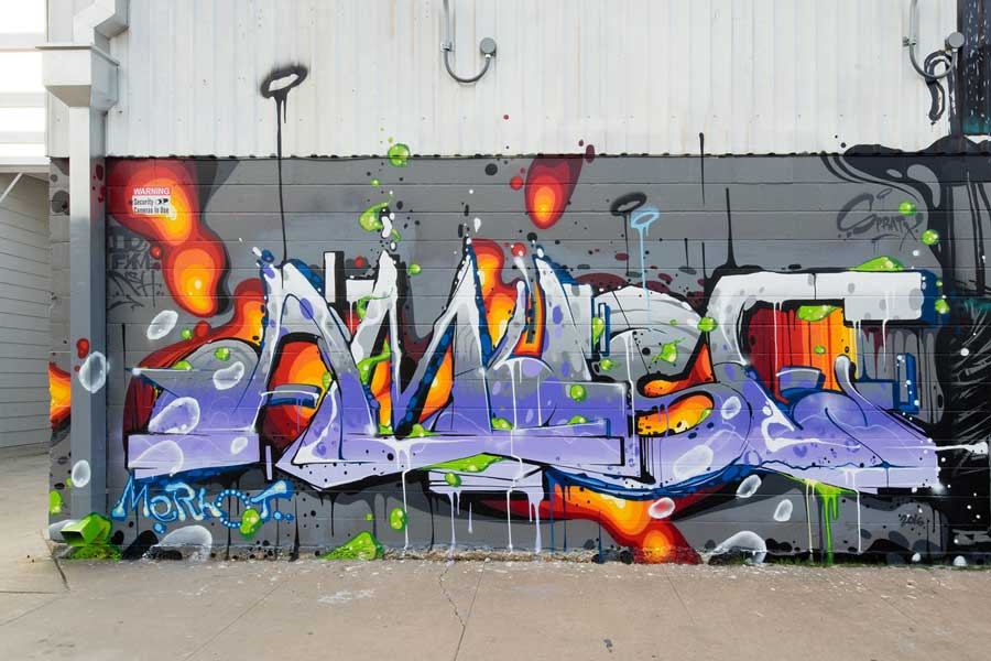 Explore austin street murals with spratx almost real things for Austin mural tour