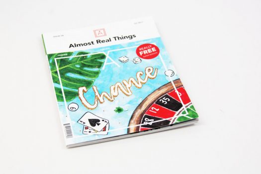"Almost Real Things Issue 06 ""Chance"" Cover"
