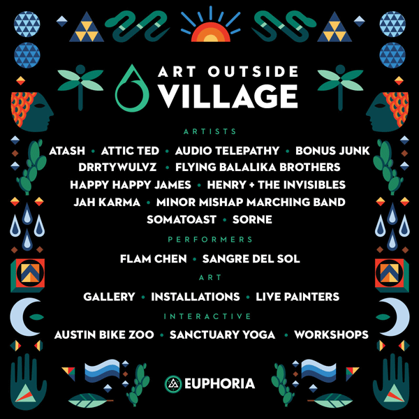 Euphoria Festival 2017 - Art Outside Village
