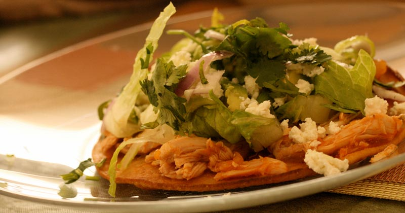 Chicken Tostadas: Easy & Delicious Recipes - Home Cooked Meals are More Fun and Nutritious by Maria Teresa Johnson, Health Coach: N3 Nena's Natural Nutrition
