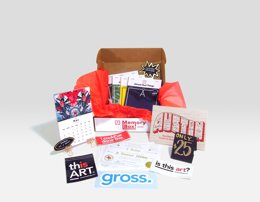Almost Real Things 2017 Memory Gift Box Open