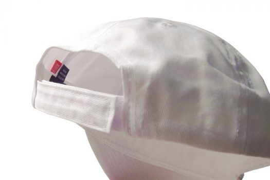 Almost Real Things ART Club Hat in White, Back