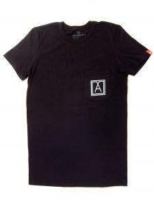 Almost Real Things ART Club Pocket Tee Shirt in Black