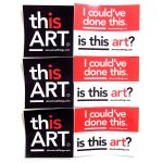 Almost Real Things Art Critic Starter Pack Stickers