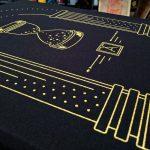 Almost Real Things ART Club Money Makin' Long Sleeve in Black - Back Detail