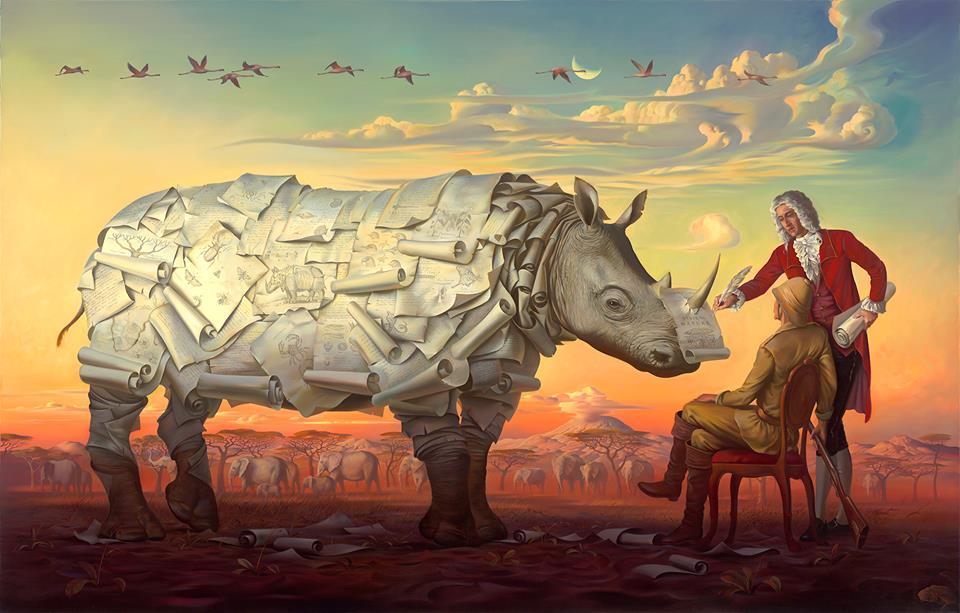 Vladimir Kush Rhino
