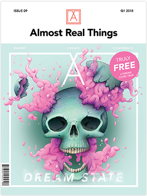 "Almost Real Things Issue 09 ""Dream State"" Cover"