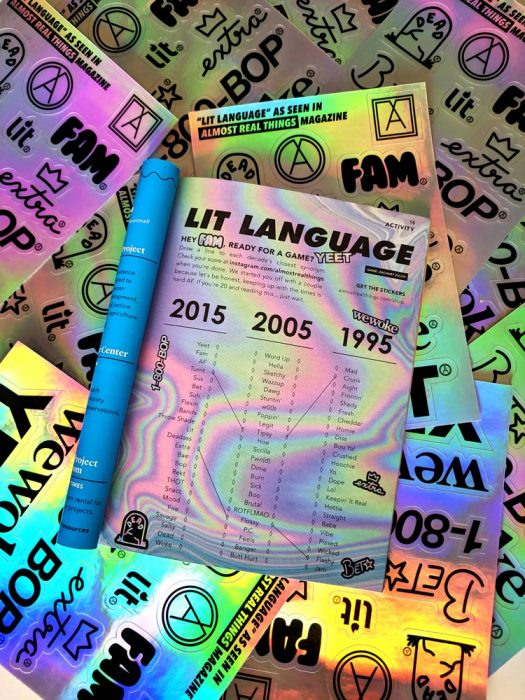 Lit Language Sticker Pack Issue 14 Game