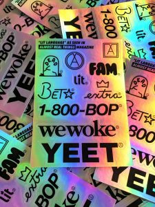 Lit Language Sticker Pack