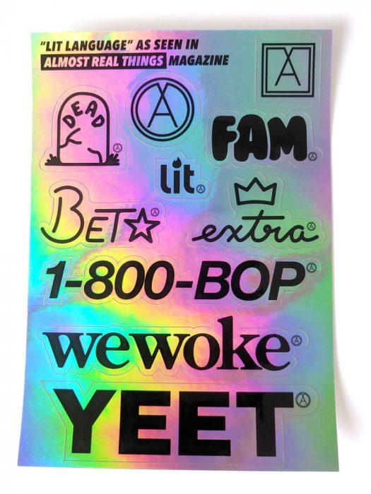 Lit Language Sticker Pack