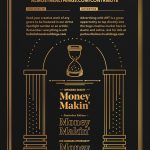 """Almost Real Things Issue 15 """"Money Makin'"""" Back Cover"""
