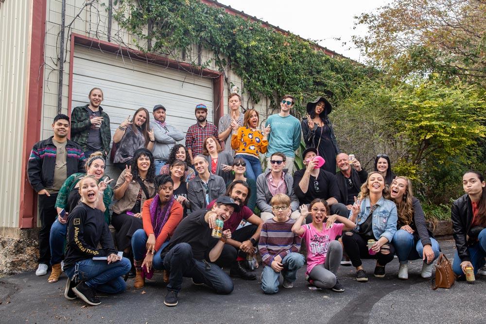 EAST ART Safari Bus Tour for Big Medium's East Austin Studio Tour on Nov 16, 17, 23 and 24, 2019 in Austin, Texas