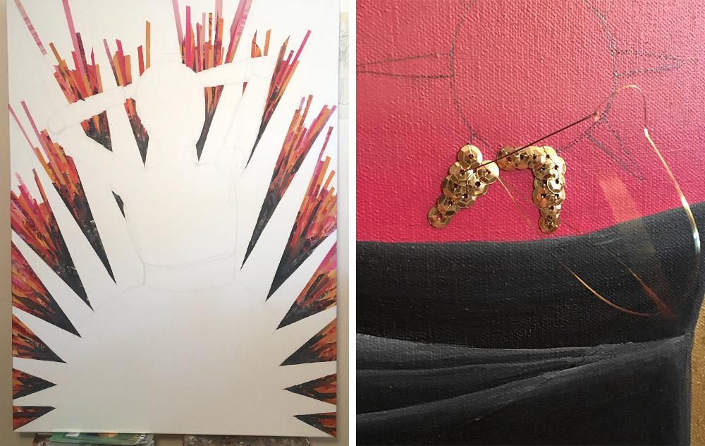 Sapira Design Artwork Process