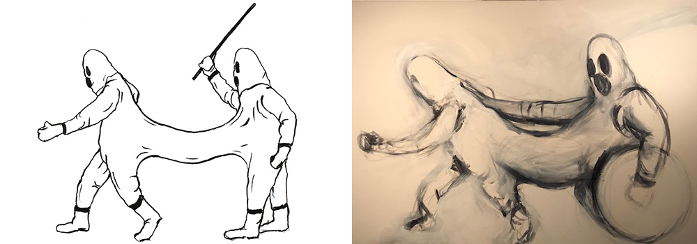 Sean Thornton Artwork Process