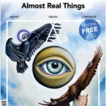 """Almost Real Things Issue 18 """"Surreal // So Real"""" Cover"""