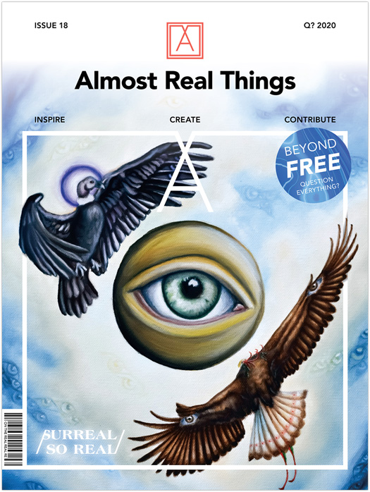 "Almost Real Things Issue 18 ""Surreal // So Real"" Cover"