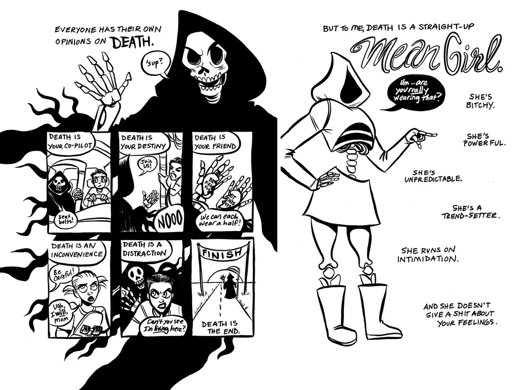 Death is a Mean Girl - Monica Gallagher