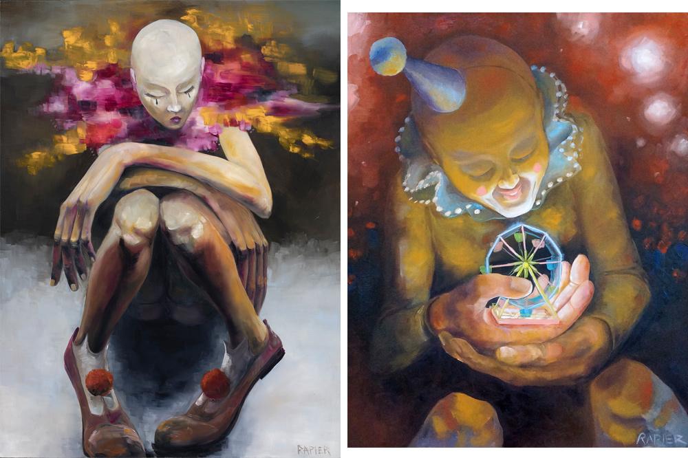 JR Rapier Surreal Paintings 1