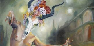 JR Rapier Surreal Paintings Voodoo Queen host