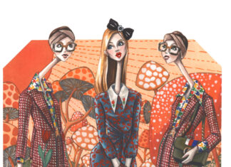 Illustration from Fashion Artist Vogue Vignette